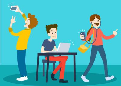 Inicjatywy młodzieżowe w Otwartej Pracowni Cyfrowej